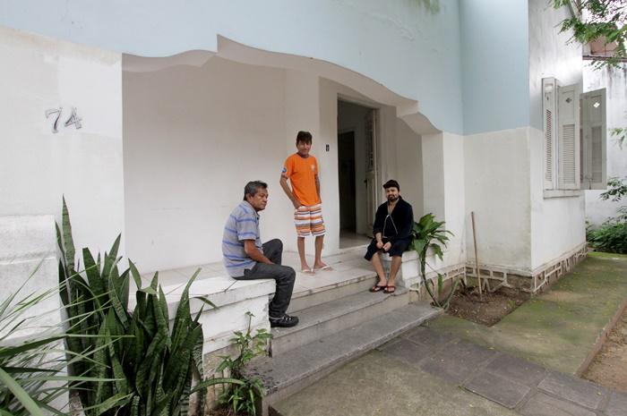 Os amazonenses Francisco, Rogério e Sebastião moram na casa de passagem enquanto esperam por um transplante em hospitais de Porto Alegre