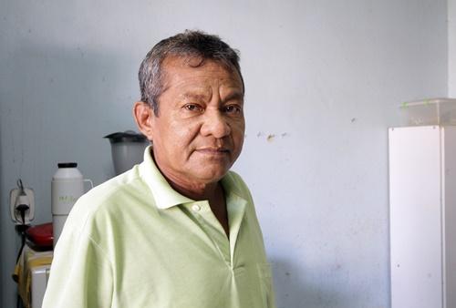 Francisco, 58 anos, era motorista de táxi em Manaus e teve que migrar para Porto Alegre, onde aguarda pelo transplante de rim