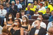 Sessão da Câmara que aprovou projeto em outubro teve protestos de professores | Foto: Divulgação