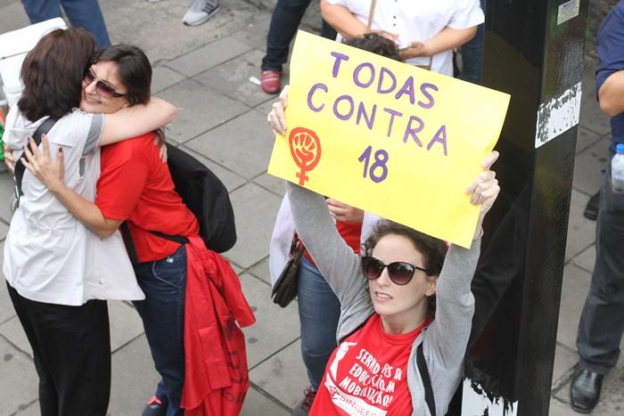 Manifestações Porto Alegre