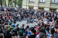 Assembleia de estudantes do Direito da Ufrgs em manifestação contra a PEC do teto dos gastos públicos, que congelou investimentos em educação | Foto: Otávio Tinoco/ Divulgação