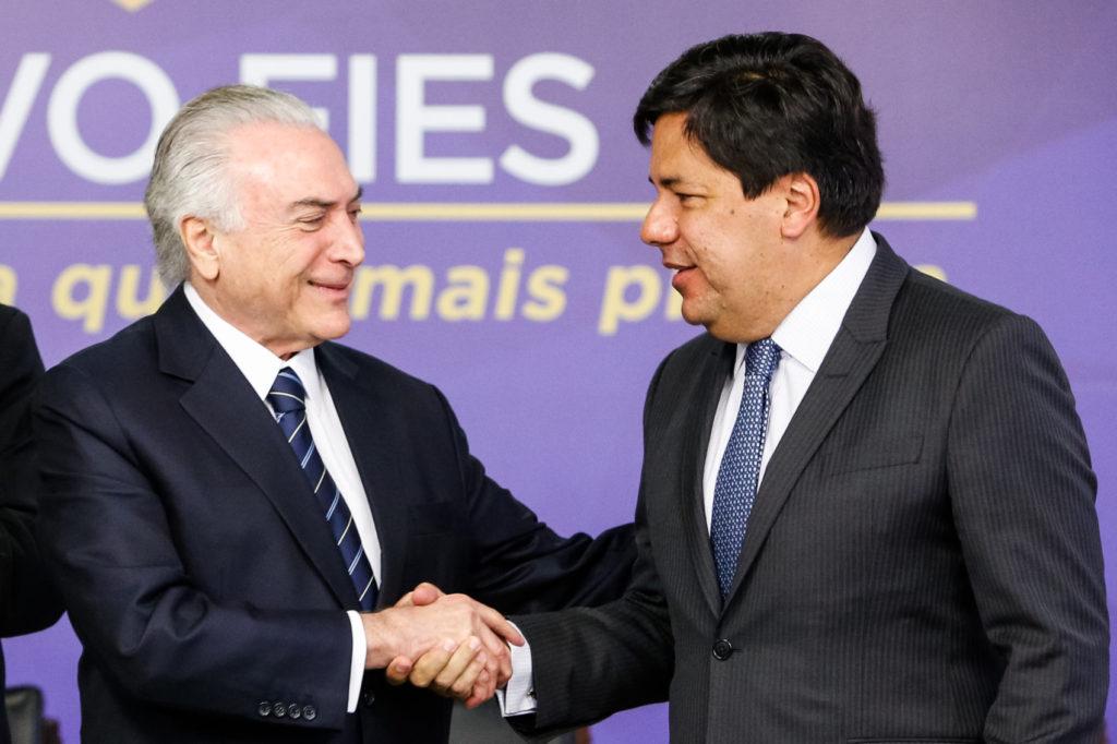 (Brasília - DF, 06/07/2017) Cerimônia de Anúncio de Novas Vagas do FIES para 2017 e Lançamento do Novo FIES. Foto: AlaN Santos/PR