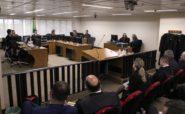 Julgamento da apelação do ex-presidente Lula durou mais de 9 horas e meia na sala de sessões da 8ª Turma do Tribunal Regional Federal da 4ª Região | Foto: Sylvio Sirangelo/TRF4