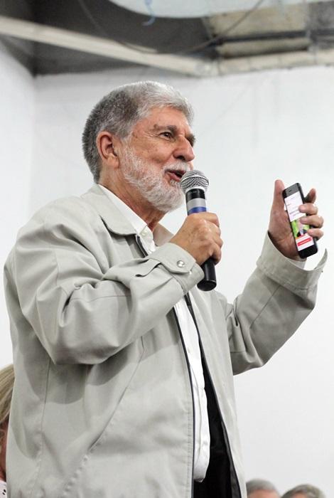 Ex-ministro das Relações Exteriores, Celso Amorim