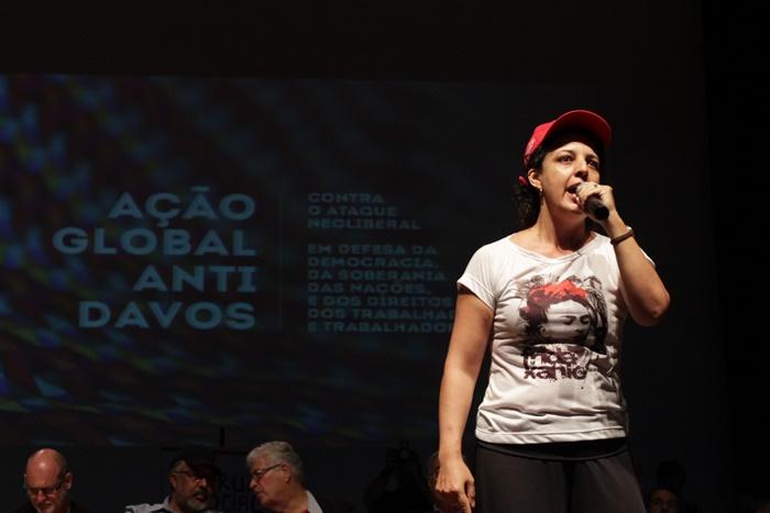"""Eliane Moura, do MST: """"Lula não é um salvador da pátria, é uma liderança. A pátria só será salva por uma classe trabalhadora, viva e ativa"""""""