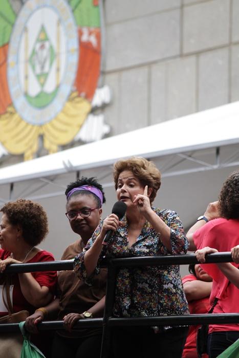 """Dilma: """"O golpe, politicamente, fracassou. Qual a liderança dos golpistas que sobrevive ao escrutínio do voto popular?"""""""