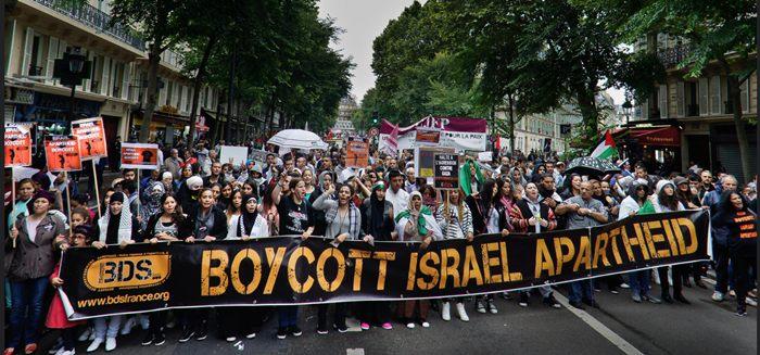 Manifestação na França reivindica o boicote a empresas, produtos e serviços israelenses