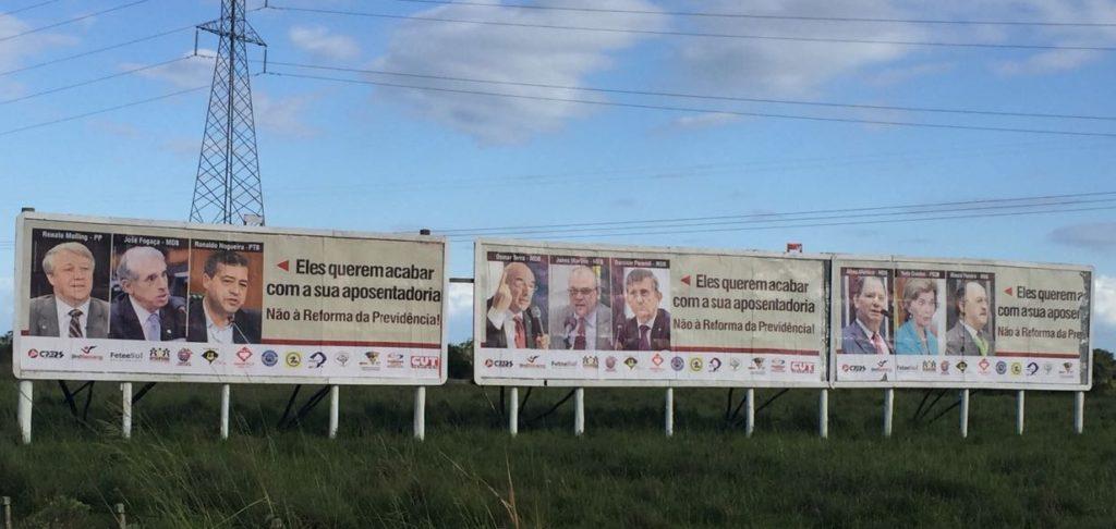 Campanha denuncia deputados gaúchos favoráveis à Reforma da Previdência