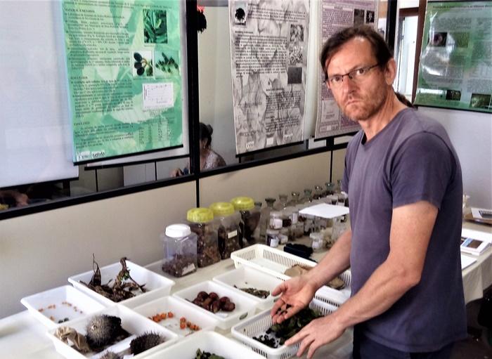 Patrimônio genético pode desaparecer, alerta o engenheiro florestal Leandro Dal Ri