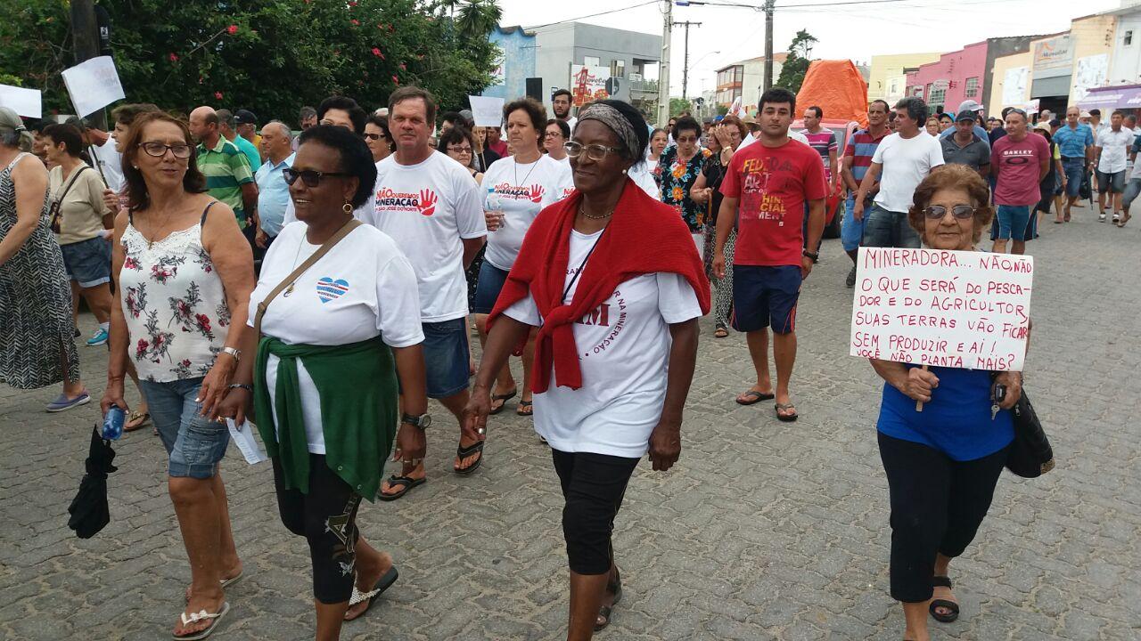 Comunidades do extremo sul do RS resistem à ofensiva de grandes mineradoras