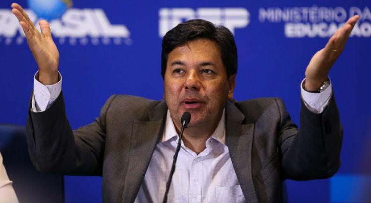 Ministro Mendonça Filho, da Educação, pré-candidato, diz que vetará proposta