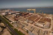 Após uma década de investimentos bilionários, o polo naval de Rio Grande foi abandonado | Foto: Guga Volks