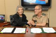 Carmen Lúcia, Presidente do STF e o comandante do Exército, General Villas Boas | FOTO Agência Verde-Oliva CComSEx