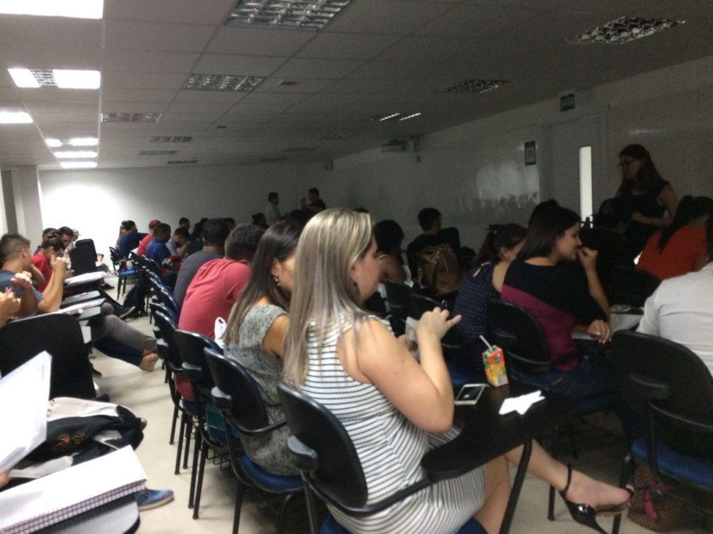 Turma 2.0 da Fadergs no Prédio da Galeria Luza, no Centro de Porto Alegre, com 120 alunos