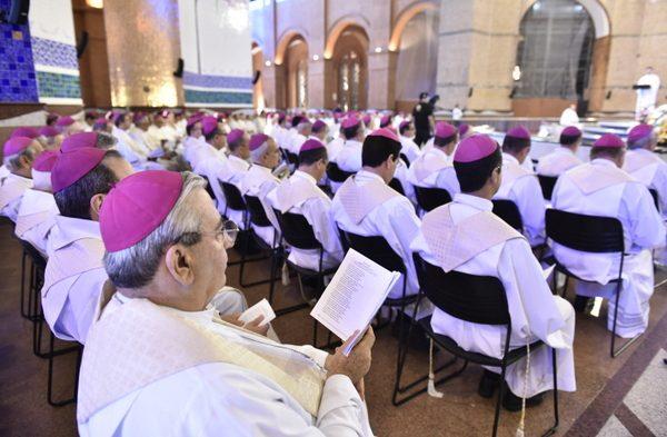 56ª Assembleia Geral da Conferência Nacional dos Bispos Brasileiros (CNBB), no Santuário Nacional de Aparecida, Aparecida do Norte (SP)