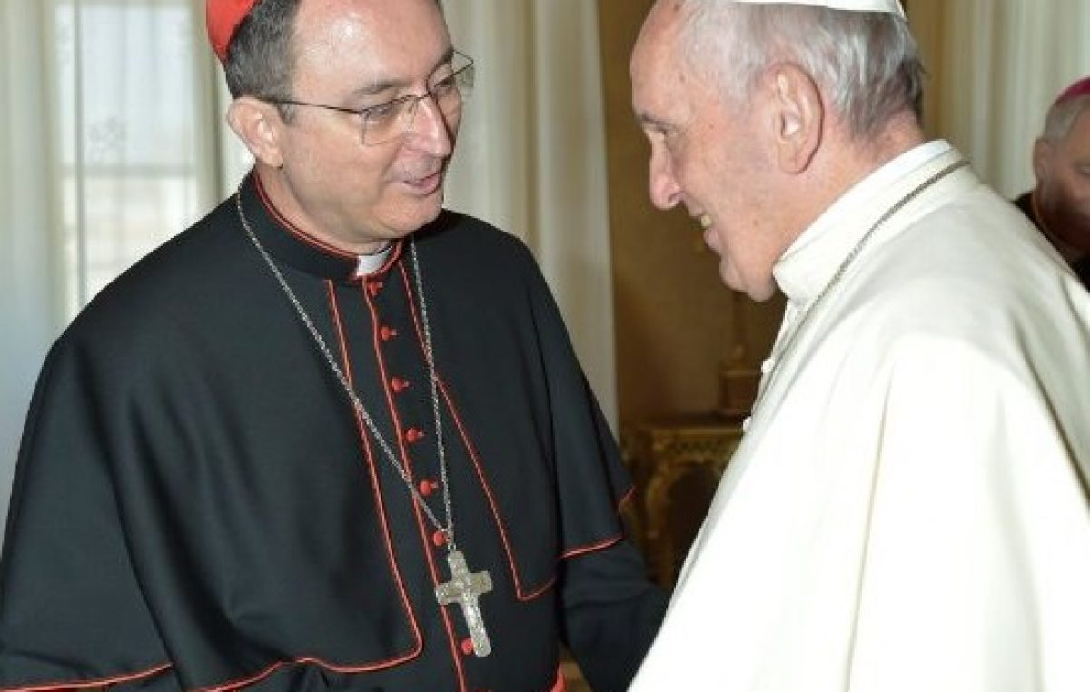 Dom Sérgio esteve na última sexta-feira (6) com o Papa Francisco, em Roma