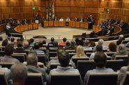 Plenário do TRT4 sedia novo ato em defesa do judiciário trabalhista no dia 30 | Foto: TRT4/ Divulgação