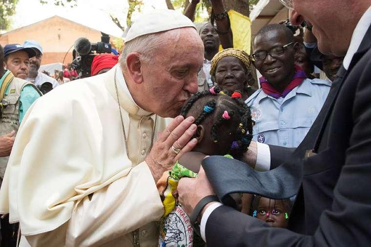 Papa Francisco na Africa