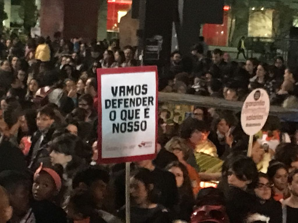 Em defesa dos direitos trabalhistas