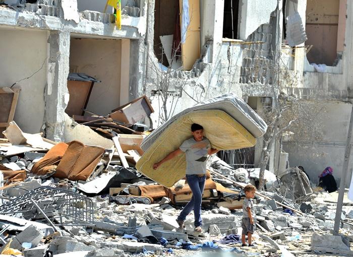 """""""Os programas do PNUD apoiam a resiliência da população palestina em Gaza para restaurar sua vida e melhorar seus meios de subsistência"""""""