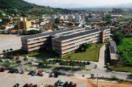 Campus Biaguaçu, da Univali, na Grande Florianópolis: a instituição é uma das comunitárias atingidas por endividamentos e redução na receita com matrículas | Foto: Univali/ Divulgação