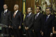 Coordenadas pelo ex-ministro do Trabalho, Ronaldo Nogueira (C) , as Jornadas foram lançadas na Câmara dos Deputados no dia 19 | Foto: Fabio Rodrigues Pozzebom/Agência Brasil