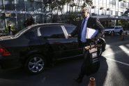 Agentes da Polícia Federal cumprem mandado de busca no Ministério do Trabalho | Foto: José Cruz/Agência Brasil
