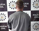 Homem preso em Passo Fundo por ameaça de morte contra a ex- | Foto: Polícia Civil/Divulgalção