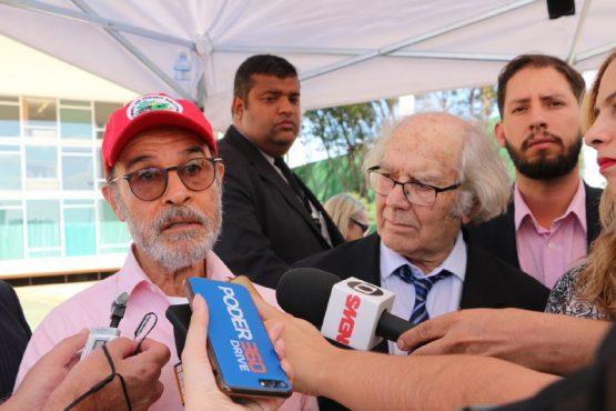 Osmar Prado e Perez Esquivel