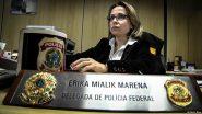 A delegada que estava à frente da operação que levou o ex-reitor à morte em 2017 agora monitora professores da UFSC | Foto: PF/ Divulgação