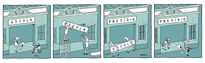 Escola VS Presídio