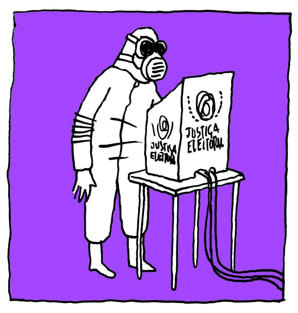 Decálogo eletivo - Fraga ilustração Rafael Sica