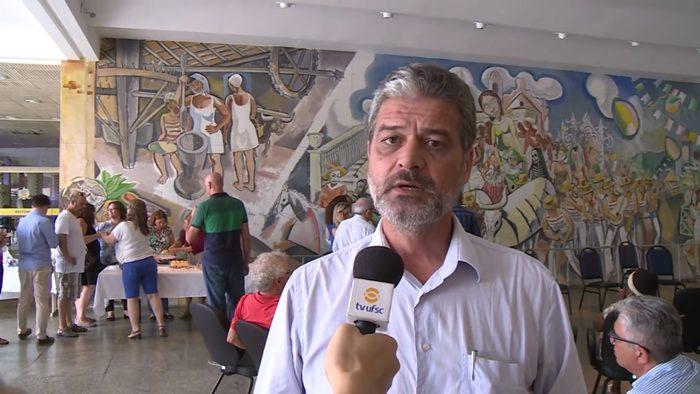 Após entrevista em que lamentou a morte de Cancellier, o professor Aureo Moraes foi intimado pela PF
