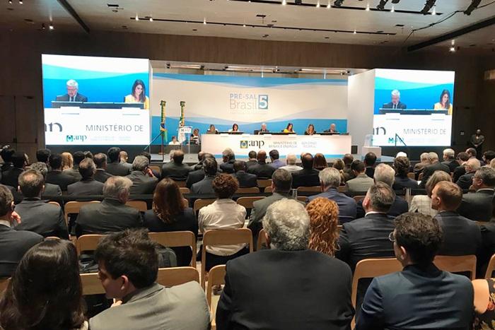 Quinta rodada de Rodada de Licitações de Partilha de Produção em áreas do pré-sal foi realizada na sede da ANP, no Rio de Janeiro