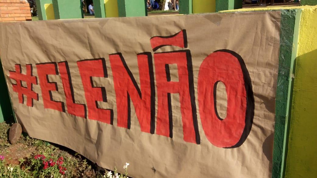 #elenão em Cerro Largo