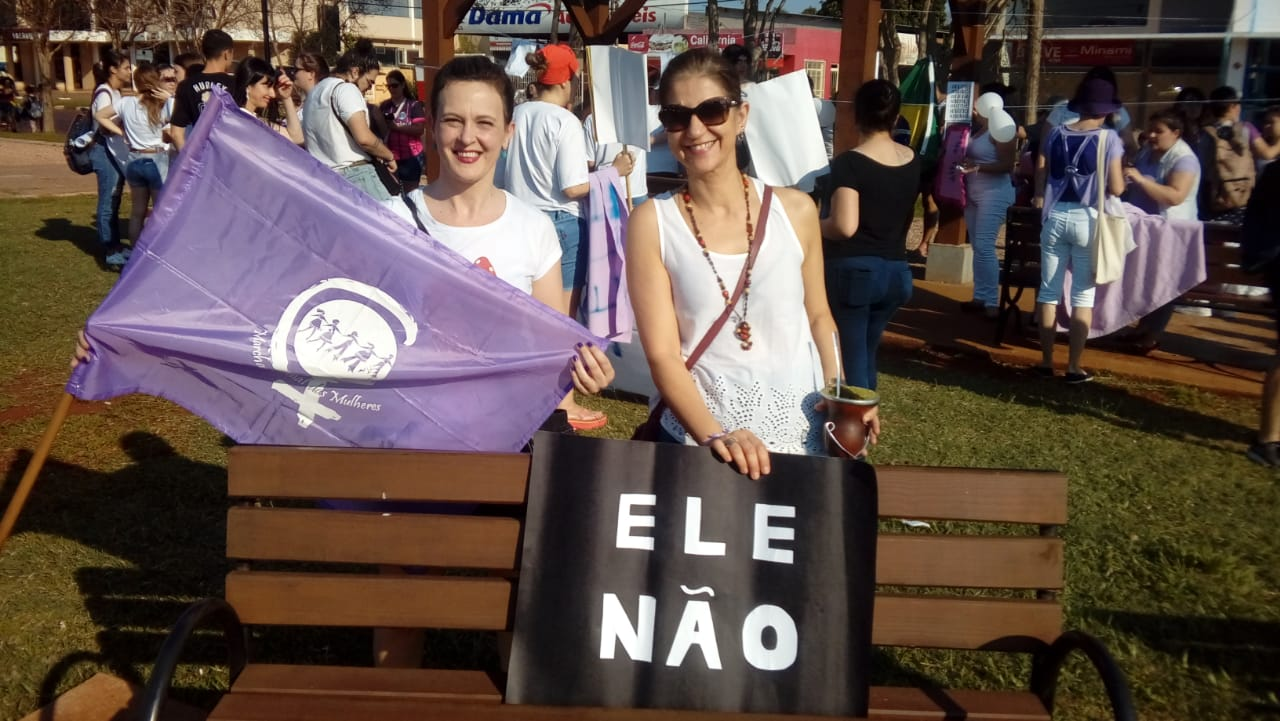#elenão em Santa Rosa