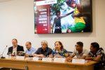 A antropóloga Lucia Rangel, do Cimi | Foto: Michelle Calazans/Cimi