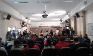 Representantes dos movimentos sociais e da educação ocuparam o plenário da Câmara na manhã desta terça-feira | Foto: Vanessa Lemos/ Divulgação