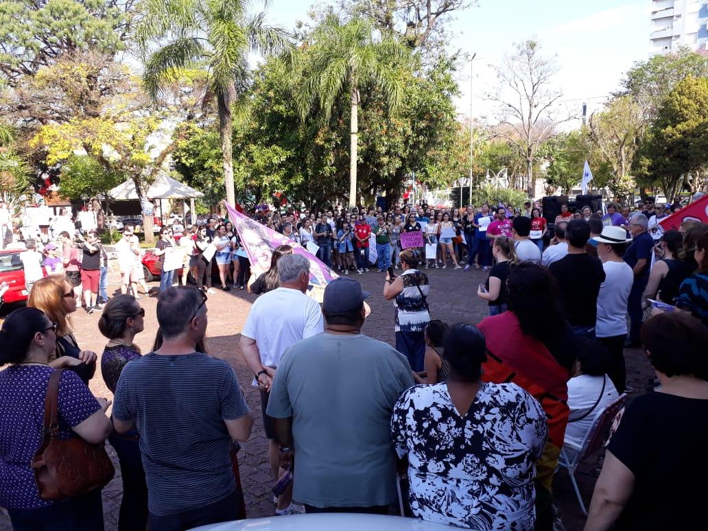 #elenão em Santa Cruz do Sul