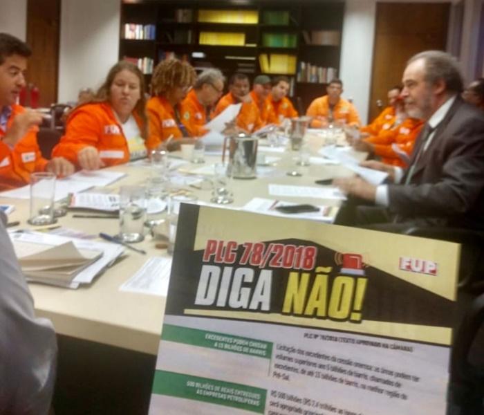 Petroleiros impediram primeira tentativa de votação em regime de urgência em agosto