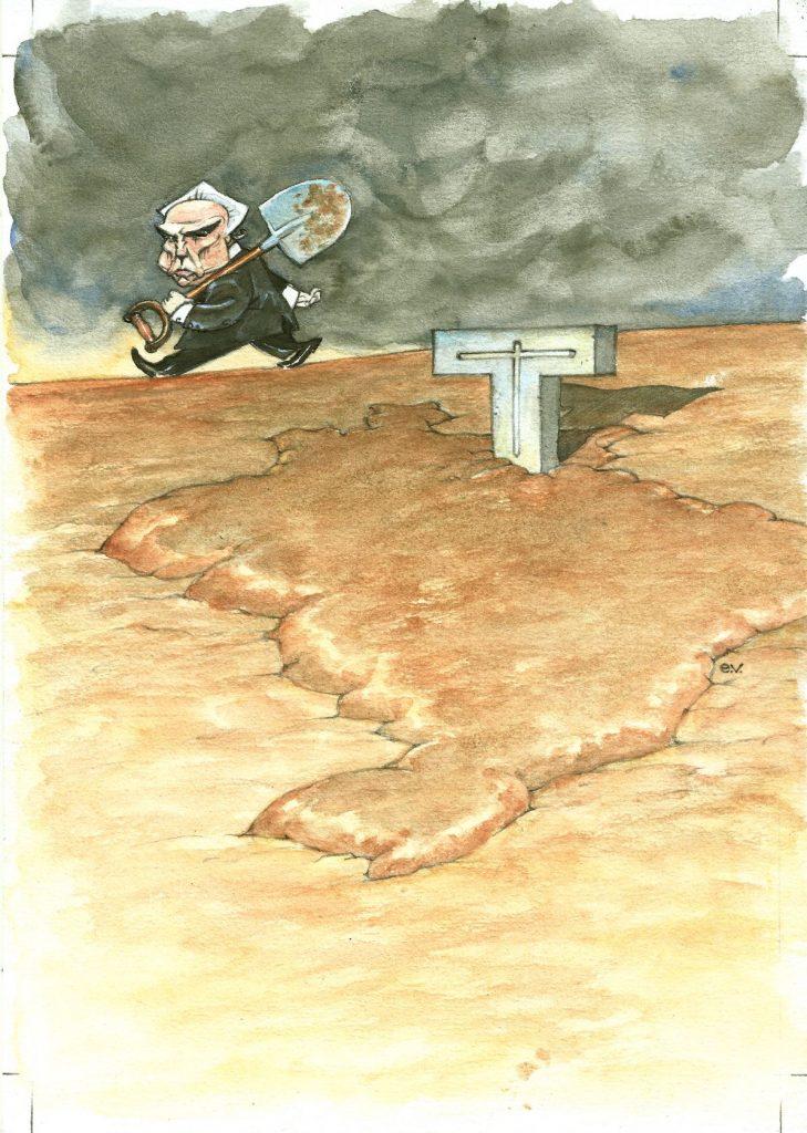 Herança Maldita de Temer_Edgar Vasques_Ilustração