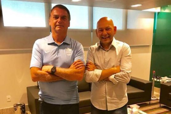 Jair Bolsonaro e Luciano Hang_reprodução Facebook | Foto: reprodução Facebook