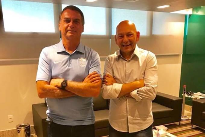 Apoio ao candidato Bolsonaro é amplamente divulgado por Luciano Hang em suas redes sociais