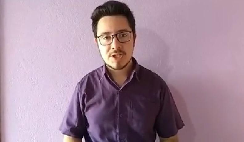 Mateus Bandeira, o estudante da universidade que fez a denúncia foi candidato pelo Partido Novo
