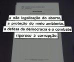 Referência a índígenas e quilombolas foi destaque na nota da CNBB censurada pela emissora | Imagem: Reprodução