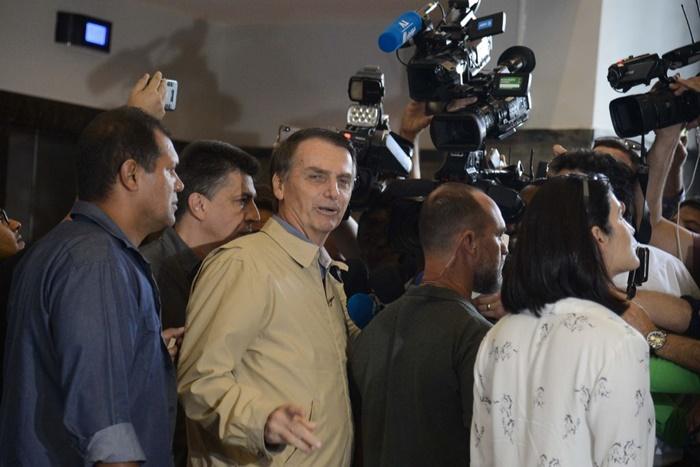 Bolsonaro visita a sede da Superintendência da Polícia Federal, no centro do Rio