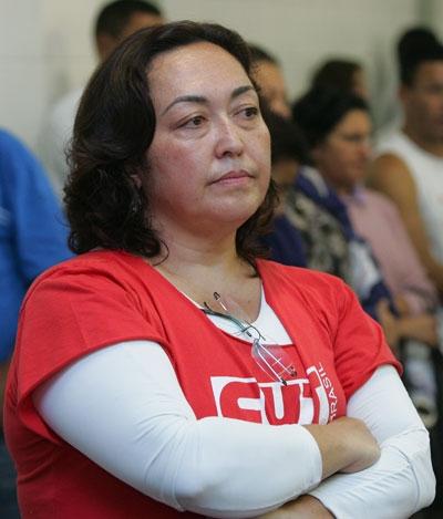 Jandyra Uehara, secretária nacional de Políticas Sociais e Direitos Humanos da CUT