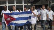 Medicos cubanos embarcam para o Haiti em 2016: programa de ajuda humanitária, o Mais Médicos integra médicos de diversas nacionalidades, sendo conhecido e respeitado por governos democráticos | Foto: Ismael Francisco / Cubadebate