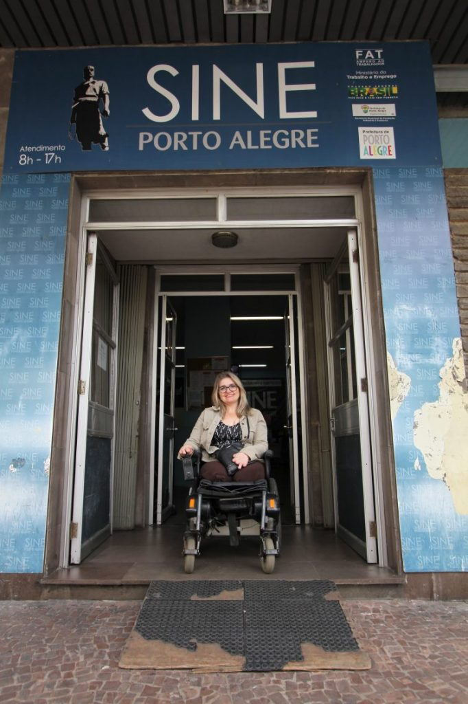 Liza Cenci, advogada e ex-presidente do Conselho Municipal dos Direitos das Pessoas com Deficiência de Porto Alegre