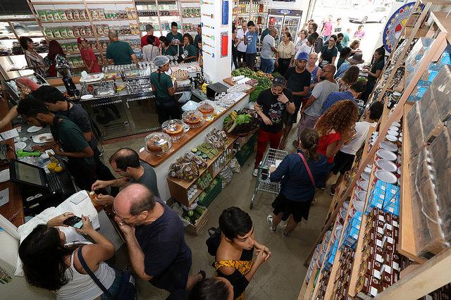 Espaço para venda de produtos agroecológicos dos assentamentos da reforma agrária, o Armazém do Campo foi inaugurado na Lapa em setembro e terá mais quatro unidades no país até março de 2019